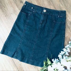 Dresses & Skirts - On-Trend Denim A-line Skirt!